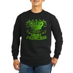 Crown and Scroll Irish Princess Long Sleeve Dark T