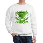 Crown and Scroll Irish Princess Sweatshirt