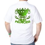 Crown and Scroll Irish Princess Golf Shirt
