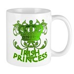 Crown and Scroll Irish Princess Mug