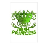 Crown and Scroll Irish Princess Postcards (Package