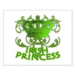 Crown and Scroll Irish Princess Small Poster