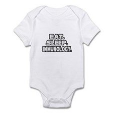"""Eat. Sleep. Immunology."" Infant Bodysuit"