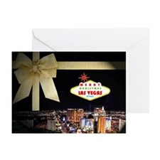 Las Vegas Christmas Cards (Pk of 10)