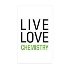 Live Love Chemistry Rectangle Sticker 50 pk)