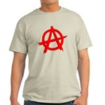 Anarchy Symbol Red Light T-Shirt