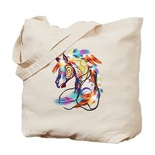 Bright Horse Tote Bag