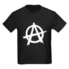 Anarchy Symbol BW T