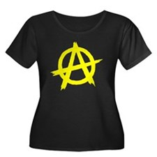 Anarchy Symbol Yellow T