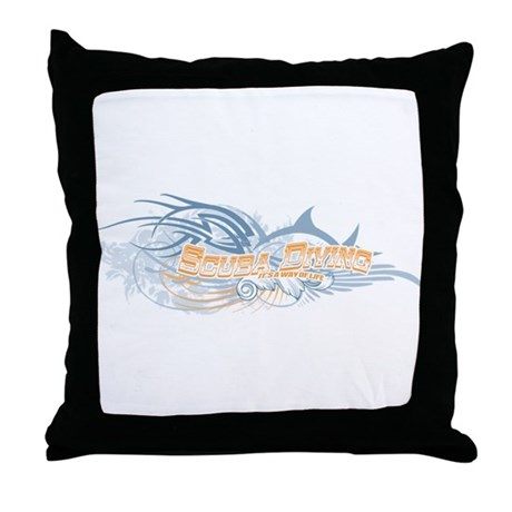 Way of Life Throw Pillow