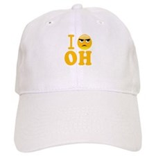 Cool Hate ohio Baseball Cap