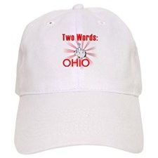 Cute Hate ohio Baseball Cap