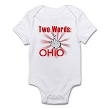 Hate ohio Infant Bodysuit