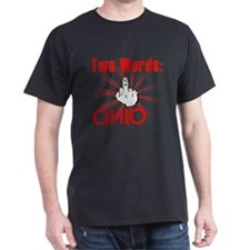 Cool Hate ohio T-Shirt