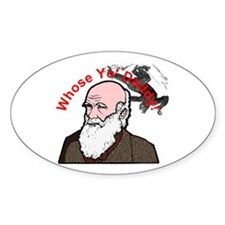 Whose Yo' Daddy - Charles Darwin on Decal