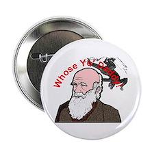 Whose Yo' Daddy - Charles Darwin on Button