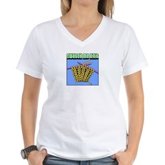 Swatch me Knit Women's V-Neck T-Shirt