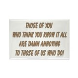 Know it all ... Rectangle Magnet (10 pack)