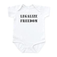 Legalize Freedom Infant Bodysuit