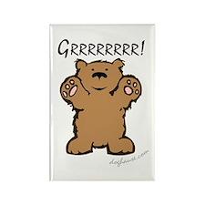 Grr (Bear) Rectangle Magnet