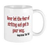 Babe Ruth quote Coffee Mug