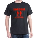 Bomb Squad Shirt, Red Writing