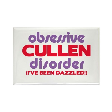Obsessive Cullen Disorder Rectangle Magnet