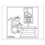 Accessible Litter Box Small Poster
