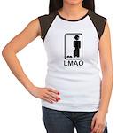 LMAO! Women's Cap Sleeve T-Shirt