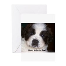 Happy Underdog Day Greeting Cards (Pk of 10)