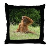 Spikey Head Throw Pillow