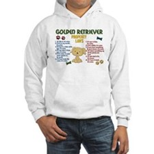Golden Retriever Property Laws 4 Jumper Hoody