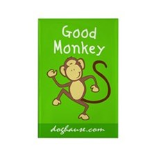 Good Monkey Rectangle Magnet
