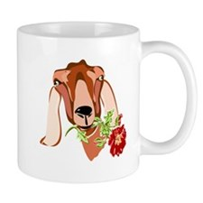 Goat and Rose Mug
