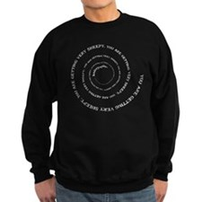 Knittyspin is making you very Sweatshirt (dark)