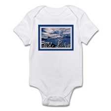 Lake Tahoe in Winter Infant Bodysuit