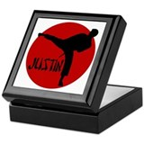 -Justin Karate Keepsake Box