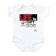 Life... GIFT from GOD Infant Bodysuit
