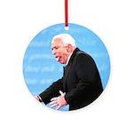 John McCain Christmas Ornament