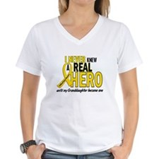 Never Knew A Hero 2 GOLD (Granddaughter) Shirt