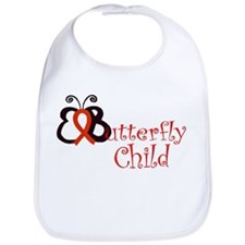<b>EButterfly Child Bib
