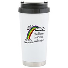 Thank Heaven School SW Ceramic Travel Mug