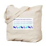 Model Horse Shopper Tote Bag