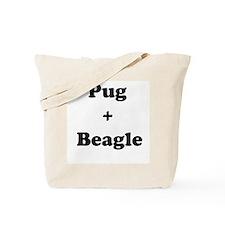 Puggle 2 Tote Bag