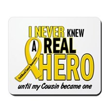 Never Knew A Hero 2 GOLD (Cousin) Mousepad