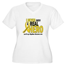 Never Knew A Hero 2 GOLD (Nephew) T-Shirt