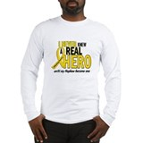 Never Knew A Hero 2 GOLD (Nephew) Long Sleeve T-Sh