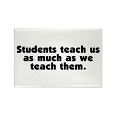Student Teachers Rectangle Magnet