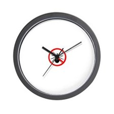 No Ticks Wall Clock