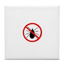 No Ticks Tile Coaster